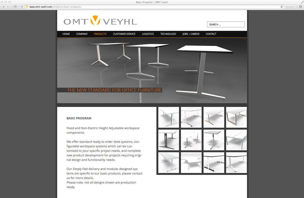 OMT-VEYHL – Produktentwicklung