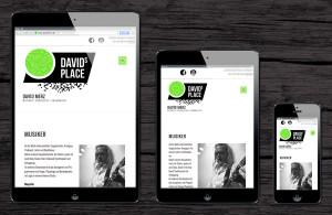 David's Place responsive Webdesign