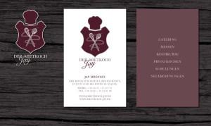 Der Mietkoch Jay Logo und Visitenkarte
