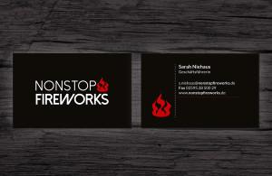 Nonstop Fireworks Visitenkarte