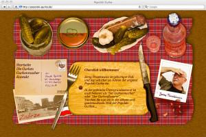 Der Popolski Gurke Webseite